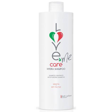 Dott.Solari Love Me Care Hydra Shampoo - Гидро-шампунь, 1000 ml, фото 2