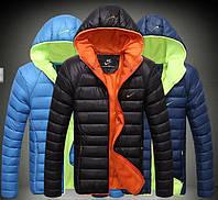 Мужская куртка пуховик Nike, разные цвета  МК-234-О