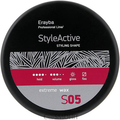 Erayba S05 Extreme Wax - Мягкий моделирующий воск сильной фиксации, 100 ml, фото 2