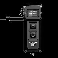 Фонарь Nitecore TUP Cree XP-L HD V6 1000Lm 5 режимов OLED–дисплей (Черный)