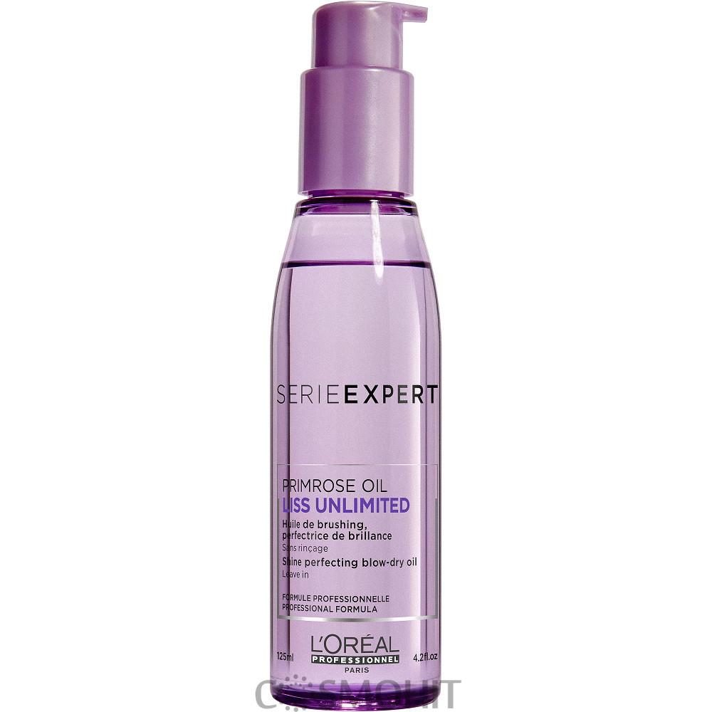 L'Oreal Professionnel Liss Unlimited Blow-Dry Oil - Разглаживающее термозащитное масло для сухих и непослушных волос, 125 ml