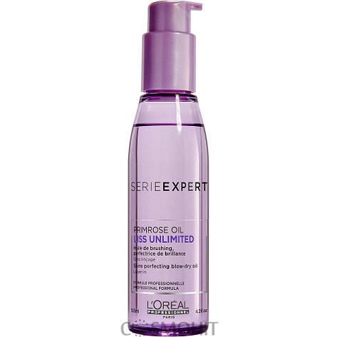 L'Oreal Professionnel Liss Unlimited Blow-Dry Oil - Разглаживающее термозащитное масло для сухих и непослушных волос, 125 ml, фото 2