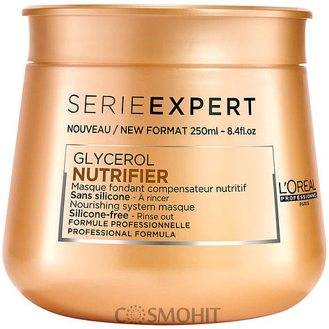 L'Oreal Professionnel Nutrifier Masque - Маска для сухих и ломких волос, 250 ml, фото 2