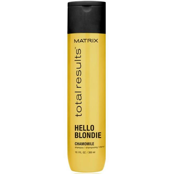 Matrix Total Results Hello Blondie Shampoo - Шампунь для натуральних або забарвлених волосся відтінки блонд, 300 ml