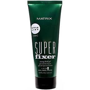 Matrix Style Link Super Fixer Strong Hold Gel - Гель сильной фиксации, 200 ml, фото 2