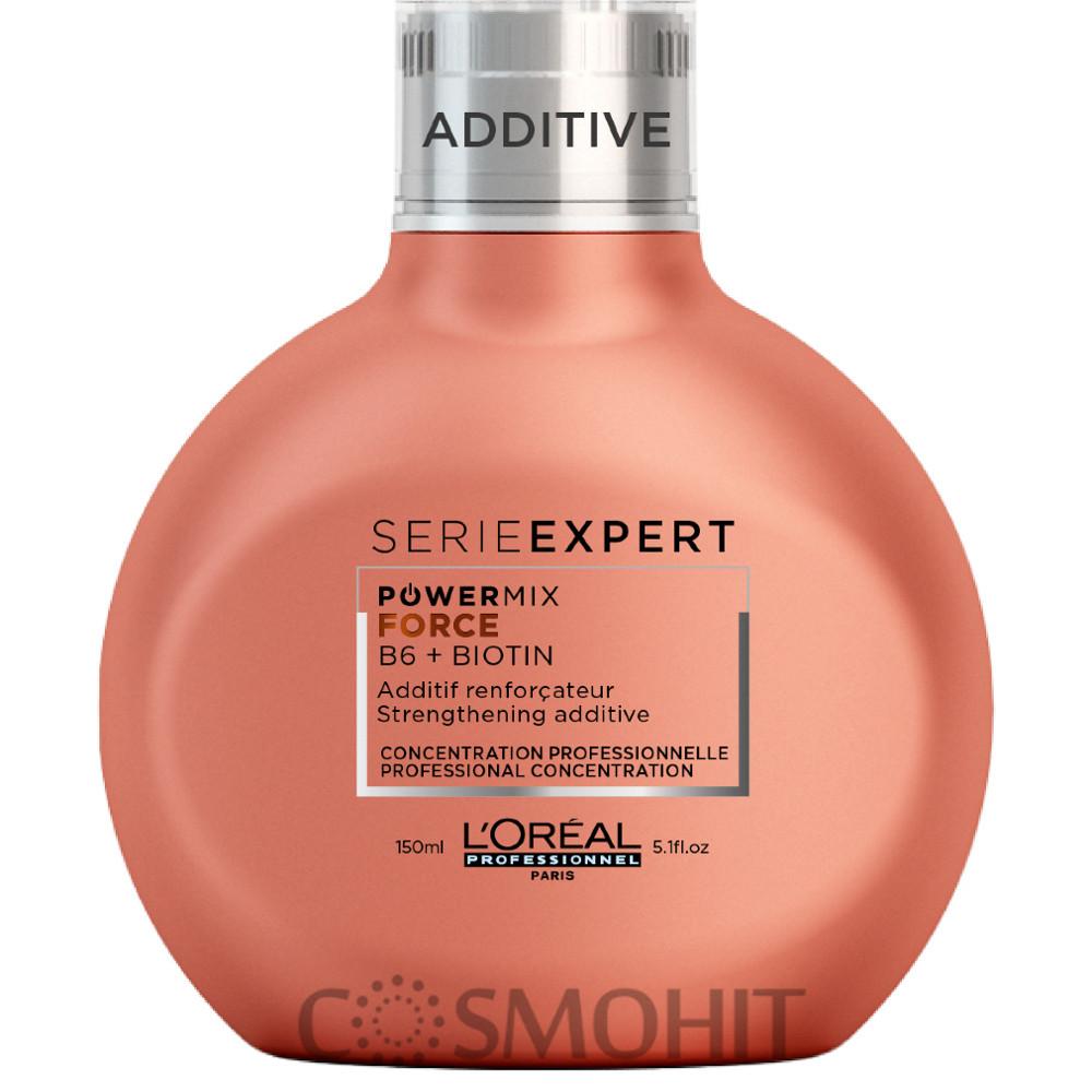 L'Oreal Professionnel Serie Expert Powermix Inforcer - Концентрат для добавления в смесь против ломкости волос, 150 ml