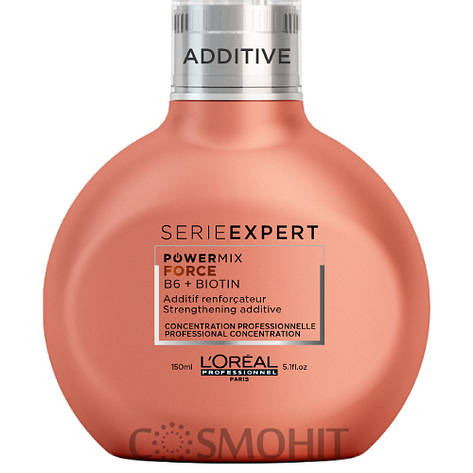 L'Oreal Professionnel Serie Expert Powermix Inforcer - Концентрат для добавления в смесь против ломкости волос, 150 ml, фото 2