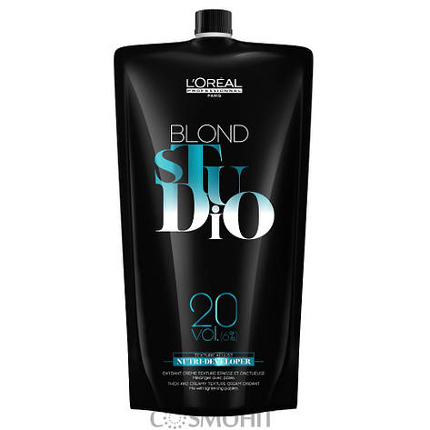 L'Oreal Professionnel Blond Studio Nutri Developer 20 Vol. (6%) - Проявитель для осветленных волос 6%, 1000 ml, фото 2