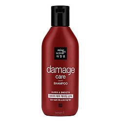 Восстанавливающий шампунь для волос с арганией и пчелиным молочком  Mise en Scene Damage Care Shampoo