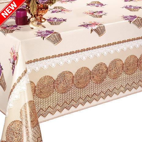 Красивая моющаяся скатерть на стол, фото 2