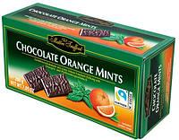 Шоколадные конфеты с мятной и апельсиновой начинкой Maitre Truffout Orange Mints 200 г