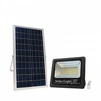 Світлодіодний прожектор 200W з сонячною панеллю