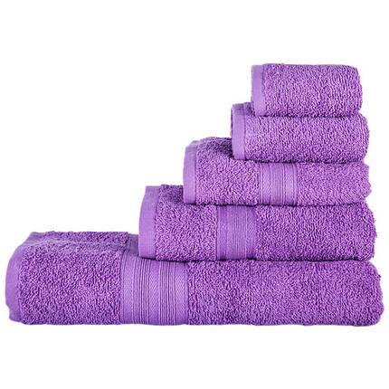 Полотенце махровое (40х70/420г) Nostra Фиолетовое, фото 2