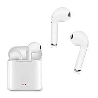 Беспроводные Bluetooth наушники HBQ I7 Tws Mini Белые (nri-1891)