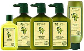 CHI Olive Organics Olive & Silk Hair and Body Oil - Масло для волос и тела, 15 ml, фото 2