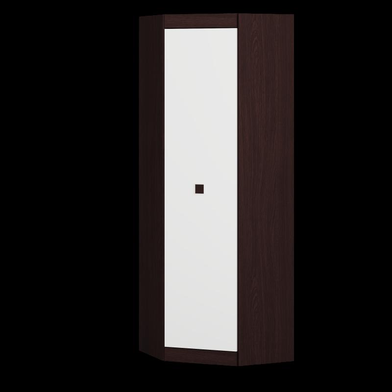 Шкаф Угловой 700 Соната Эверест Венге темный/Белый