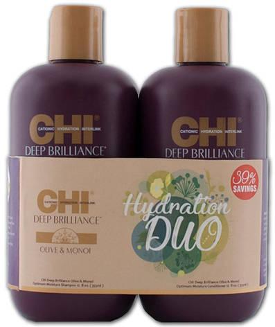 CHI Deep Brilliance Hydration Duo - Набор для волос, фото 2