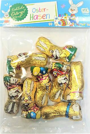 Шоколадні фігурки Glucks-Kafer Зайчики 100 g, фото 2