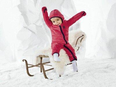Комбинезон флисовый Lupilu на девочку 1-2 года