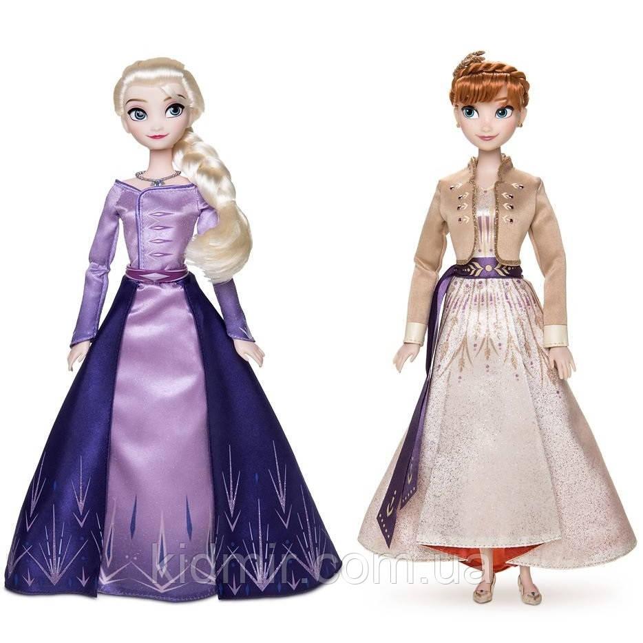 Набор кукол Анна и Эльза Холодное сердце Принцессы Дисней Anna Elsa Frozen Disney