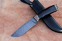 """Нож ручной работы """"Дионис"""" из дамасской стали"""