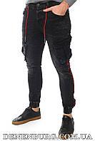 Джинсы мужские ADAM 20-7A913 тёмно-серые, фото 1