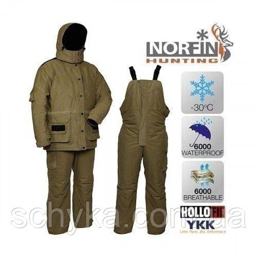Костюм зимовий Norfin HUNTING Wild Green -30° / 6000мм /72900