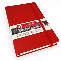 Скетчбук для графики Royal Talens Art Creation 140 г/м, 13х21 см, 80 л, красный (9314202M)