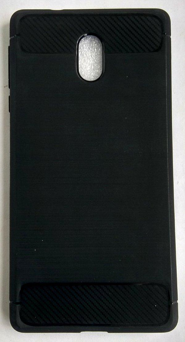 Силіконовий чохол для Nokia 3 black