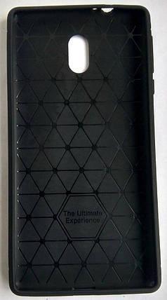 Силіконовий чохол для Nokia 3 black, фото 2