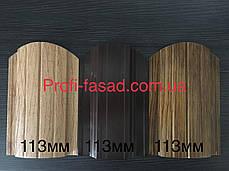Корея 10лет Гарантия Штакетник двухсторонний матовый 0,5мм RAL 8004 113мм, фото 2