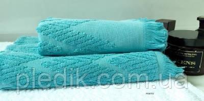 Махровое полотенце 70х130 BONCASA 2308 FR Portu