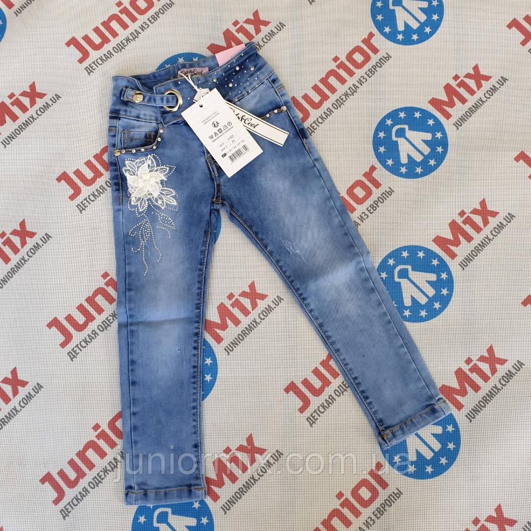 Подростковые джинсовые брюки для девочек  оптом  Kids Cool