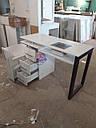 Маникюрный столик с вытяжкой Turbo Teri, УФ-лампой и ящиком Карго, фото 2