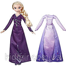 Кукла Эльза Холодное сердце с набором одежды Elsa Frozen Disney Hasbro