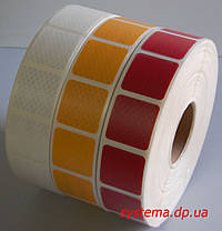 3M™ SL997-71S Diamond Grade™ - Маркировочная световозвращающая сегментированная лента 52 мм х 50 м, желтая, фото 2