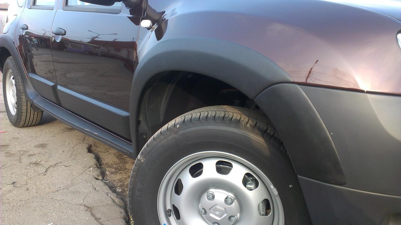 Расширители колесных арок Renault Duster (2010-2017)