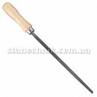 Напильник 4-х гранный 250 мм №2 с ручкой СИБРТЕХ (15929)