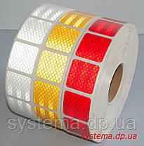 3M™ SL997-72S Diamond Grade™ - Маркировочная световозвращающая сегментированная лента 52 мм х 50 м, красная, фото 2