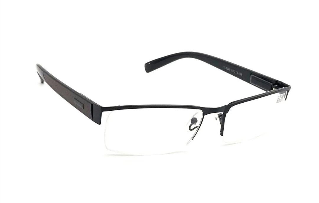 Полуоправные очки для зрения мужские