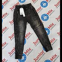Детские джинсовые брюки джоггеры для мальчиков оптом FREE BOY