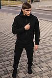 """Костюм мужской Softshell """"Intruder"""" черный (куртка и штаны) + Баф Intruder в подарок, фото 3"""
