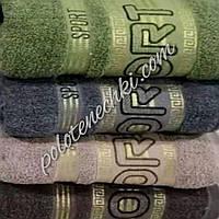 Махровое лицевое полотенце Спорт