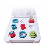 Настільна гра-головоломка  MARBLES Otrio (дорожня версія) Spin Master (SM47322 ), фото 3