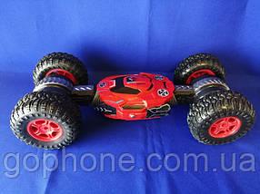 Машинка перевертиш Disco Monster (Red)