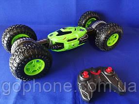 Машинка перевертиш Disco Monster (Green)