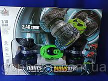 Машинка перевертыш Dance Monster (Green), фото 3