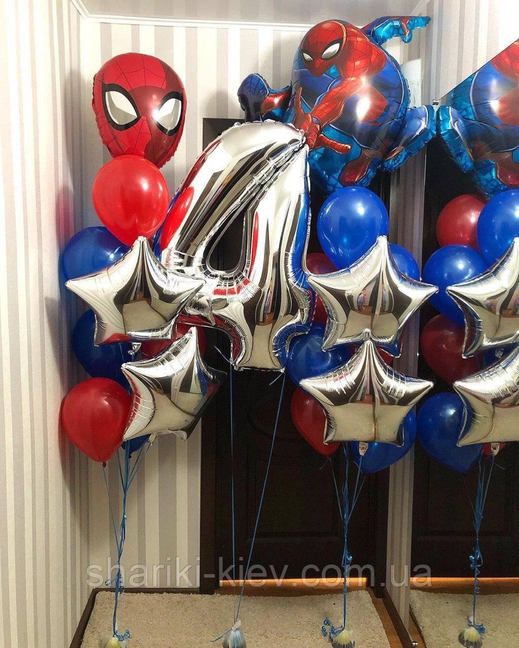 Праздничный набор на День Рождения Spider Man