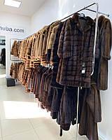 Купити куртка жіноча комір відстібається норка 46 48