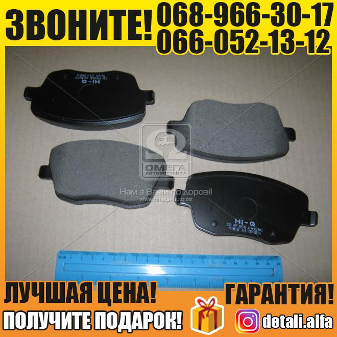 Колодка тормозная СИТ IBIZA V (6J5) 10- (D1437) передн. (пр-во SANGSIN) (арт. SP1806)